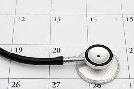 Stethoscope Calendar